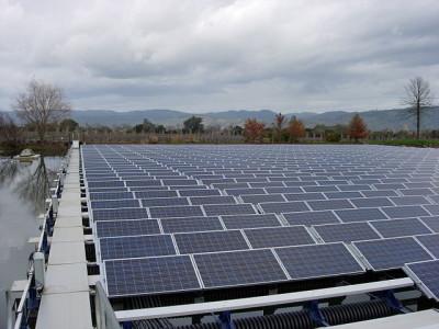 Floating Solar Gains Momentum
