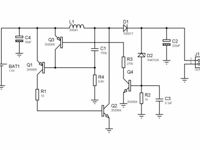 joule thief circuit