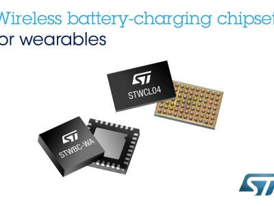 High-Efficiency Wireless Battery-Charging Chipset for Smaller, Simpler, Sealed Wearables