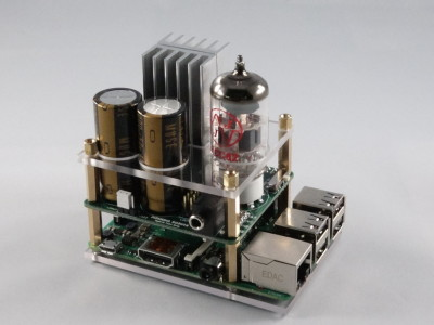 Granddad, there's a tube on my Raspberry Pi