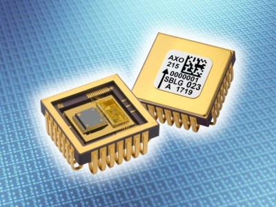 Accelerometer has 200 ppm non-linearity over 15 g range