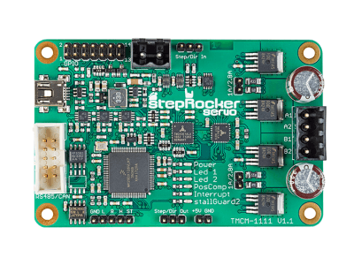 Trinamic launches cost efficient stepper motor servo controller module