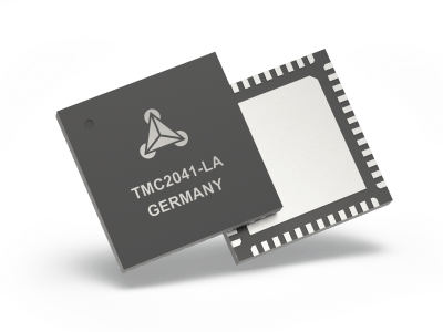 The TMC2041 – Trinamic's new dual-axis stepper motor driver