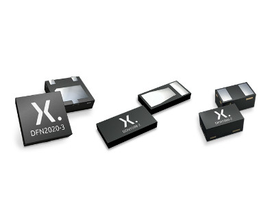 Nexperia boosts protection portfolio with  TVS diode families