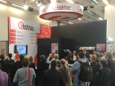 Elektor is going to electrify you at embedded world 2018