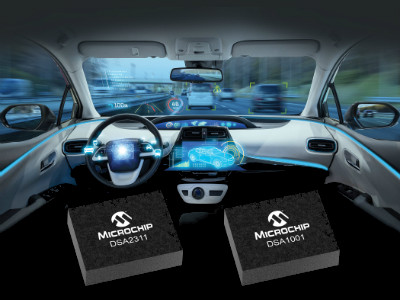 Microchip's New Automotive MEMS Oscillators