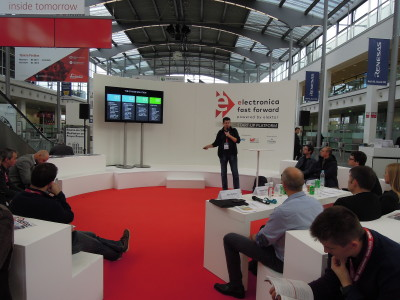 Participating in electronica Fast Forward, the Startup Platform powered by Elektor is simple