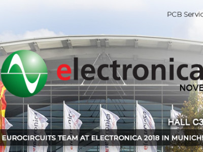 Meet the Eurocircuits Team at Electronica 2018 in Munich!