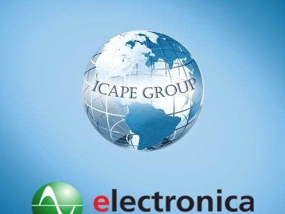 ICAPE Group will exhibit at Electronica, Munich