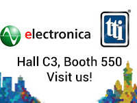 Experience TTI at electronica 2018 Hall C3, Stand 550