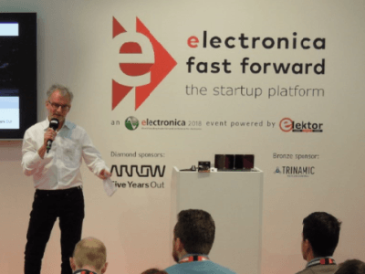 electronica Fast Forward 2018, the startup platform: Pitch Schedule