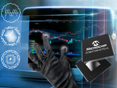 Single-chip maXTouch® touchscreen controllers enable 20-inch automotive touchscreens