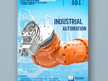 Mouser Electronics' New All Things IoT E-Book Explores Opportunities and Obstacles of Industrial IoT