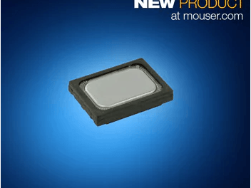 Mouser Electronics Now Shipping CUI's IP67-Rated Micro Speakers
