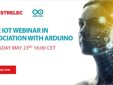 Distrelec collaborates with Arduino for May instalment of 'The Distrelec Webinar Series'