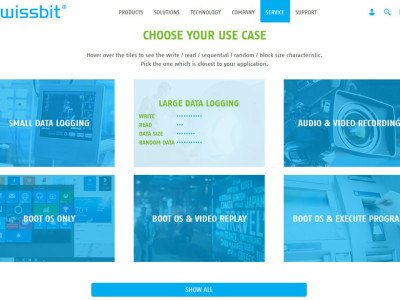 Swissbit launches innovative Product Finder web-tool
