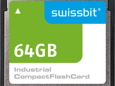 Swissbit introduces new CompactFlash™ cards
