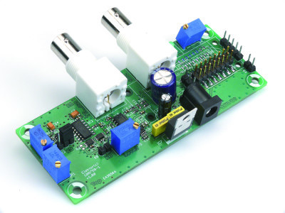PCB already populated with components
