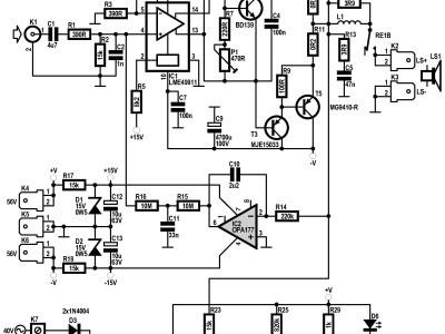 Q-Watt - Simple Audio Power Amplifier (110656) - Elektor