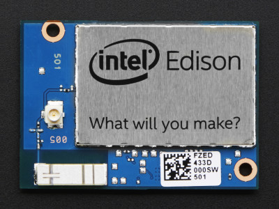 Intel Edison (official picture).