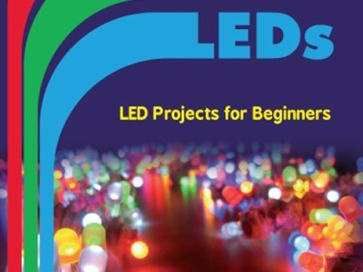 """Fun with LEDs"" book cover"