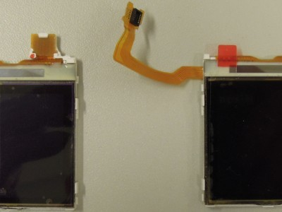 2 Nokia Displays (front view)