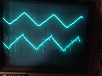 500 kHz triangle