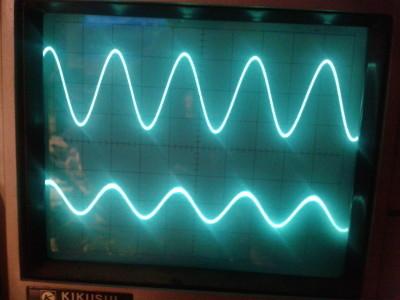 8 kHz sine wave