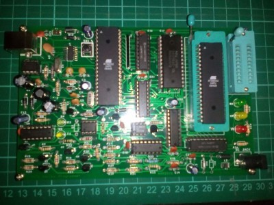 8051 programmer for Atmel devices