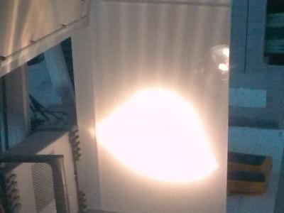 LED-Lampe im Abblendbetrieb am Netzteil 6V 50Hz