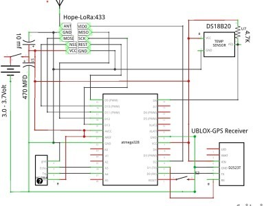 Uploader schematic