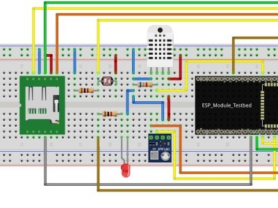 how to wire the ESP32 and the sensors