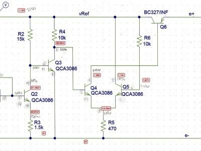 bandgap 1,12V valeurs_mesurées aux multimètres