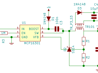 Circuit Dual Supply Buck Module