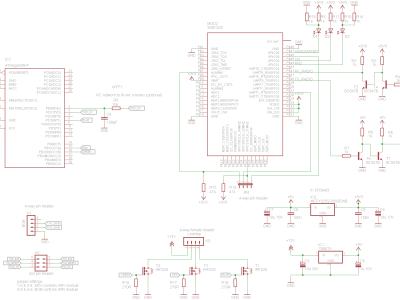 Breadboard schematics