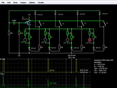Circuit Simulator Screenshot