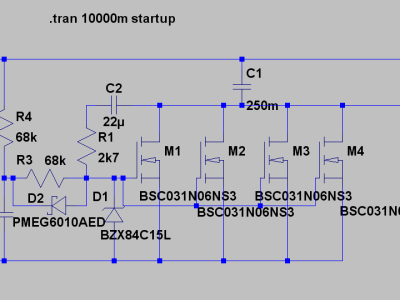 LTSPICE test schematic