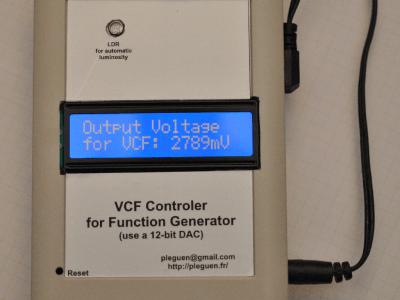 Le contrôleur VCF terminé