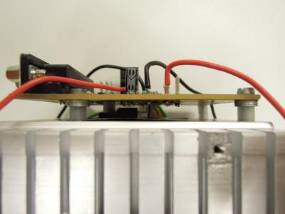 FET mounted underneath (PCB V2)