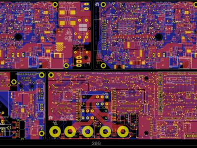 EEZ H24005 PCB panel