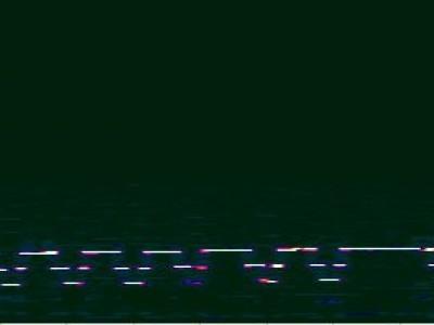 Bild 10: Beispiel eines empfangenen Signals unter 6 Hz
