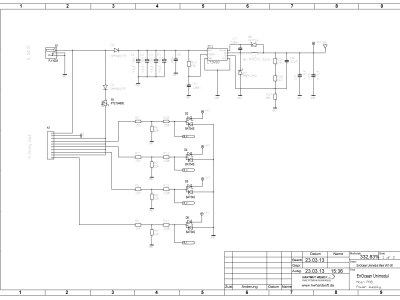 Schematics main board page 1