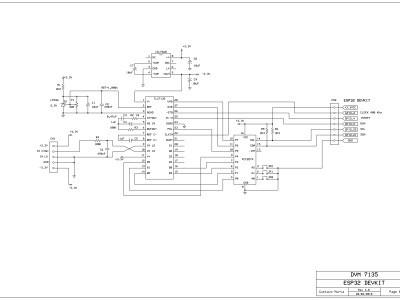 ESP32-DVM7135 Schematic