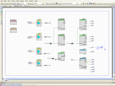 Robot part of schematics