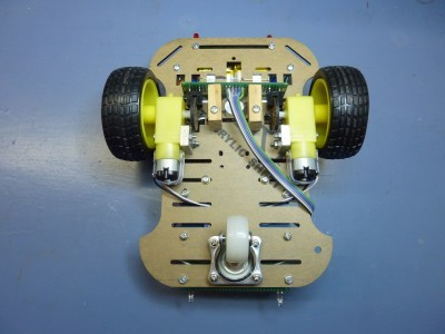 Robot bottom view