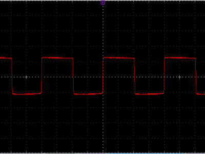 Figure-3, The output signal of the zero crossing detector circuit