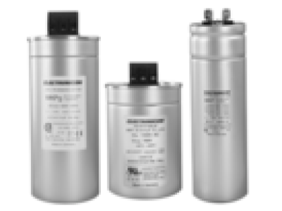 Example picture of a selection of typical MPPF Power Capacitors.