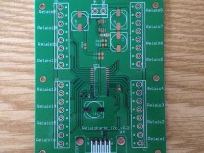 unbestückter Portexpander MCP23017