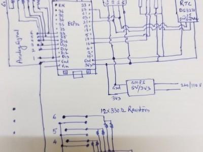 Schematic based on ESP32