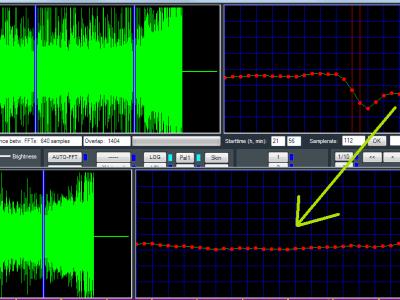 Bild 6: Die Spikes-Limiter Funktion befreit das Signal automatisch von lästigem Knistern